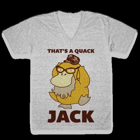 Si Duck V-Neck Tee Shirt