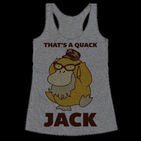 Si Duck Racerback Tank Top