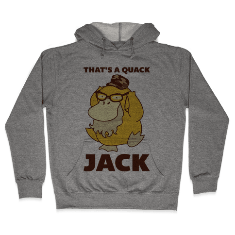 Si Duck Hooded Sweatshirt