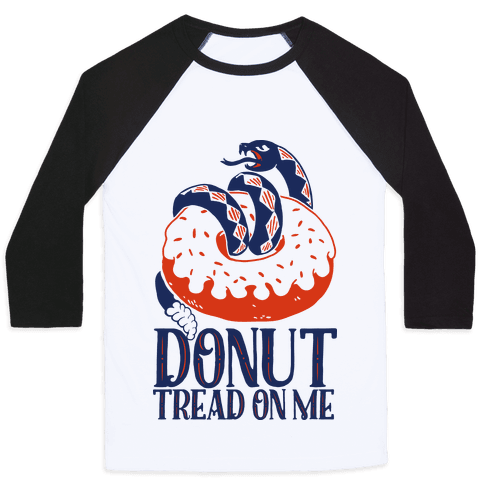 Donut Tread on Me Baseball Tee