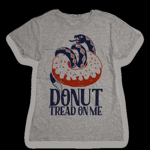 Donut Tread on Me Womens T-Shirt