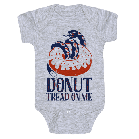 Donut Tread on Me Baby Onesy