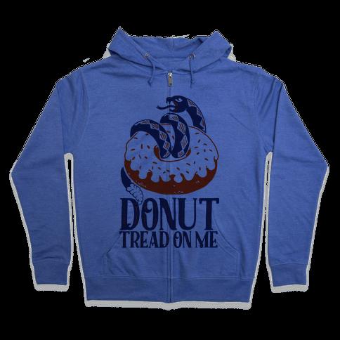 Donut Tread on Me Zip Hoodie