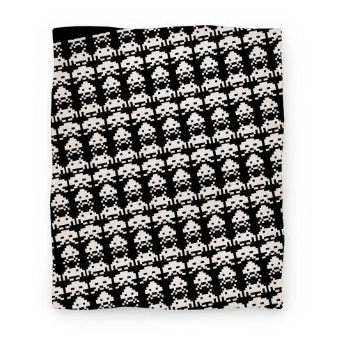 Invader Blanket Blanket