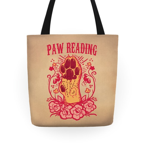 Paw Reading Tote