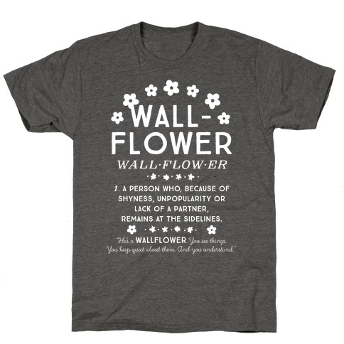 Definition of a Wallflower T-Shirt