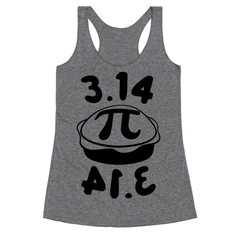 3.14 = PIE Racerback Tank Top