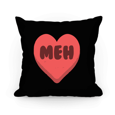 Valentine's Day Heart Meh Pillow Pillow