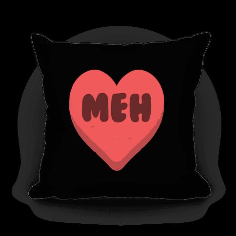 Valentine's Day Heart Meh Pillow Pillow