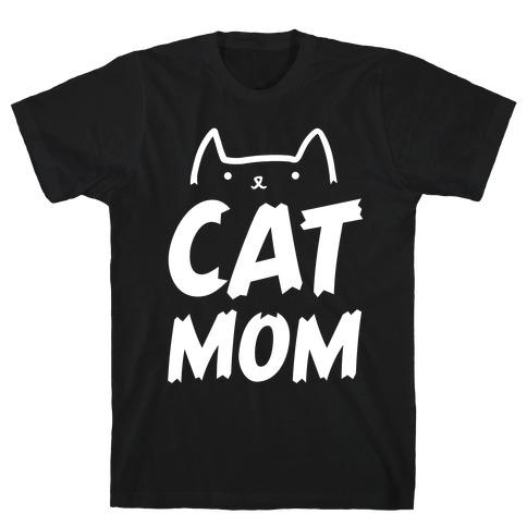 Cat Mom Mens T-Shirt