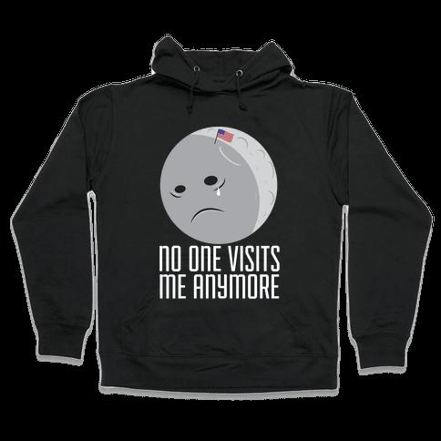 Sad Moon Hooded Sweatshirt