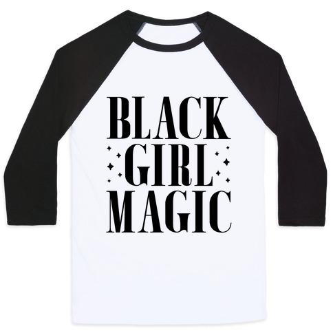 Black Girl Magic Baseball Tee