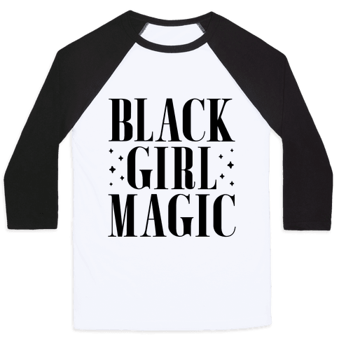 Black Girl Magic Baseball Tee