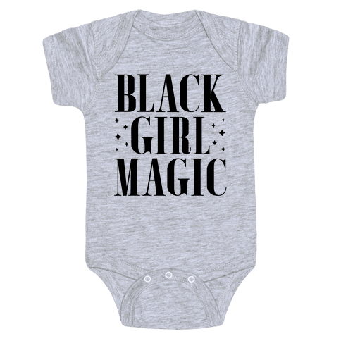 Black Girl Magic Baby Onesy