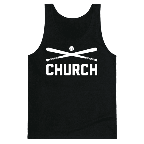Baseball Church Tank Top