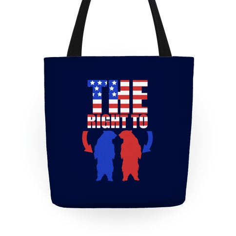The Right to Bear Arms Tote