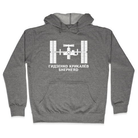 International Space Station Insignia Hooded Sweatshirt
