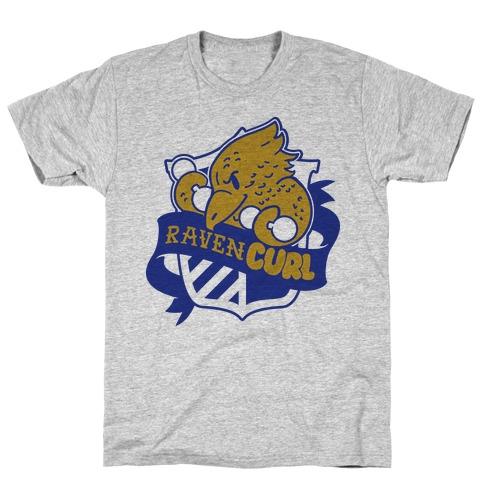 RavenCURL Mens T-Shirt