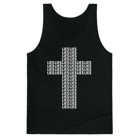 Cross of Lies Tank Top
