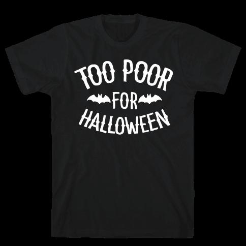 Too Poor for Halloween