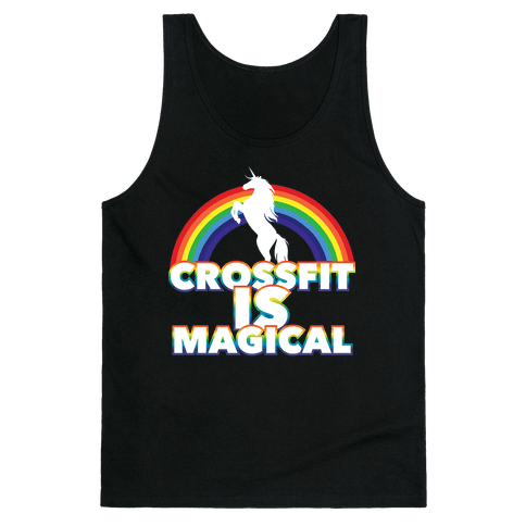 Crossfit Is Magical Tank Top