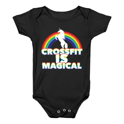 Crossfit Is Magical Baby Onesy