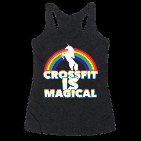 Crossfit Is Magical Racerback Tank Top