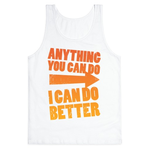 Better Than You (Training Pair, Part 1) Tank Top