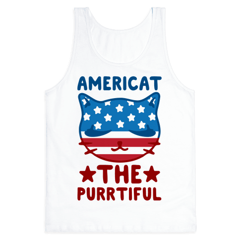 Americat The Purrtiful Tank Top