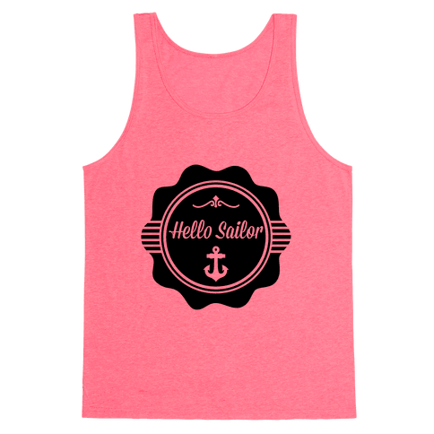 Hello Sailor Tank Top