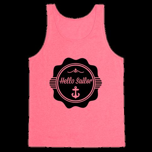 Hello Sailor Tank Top