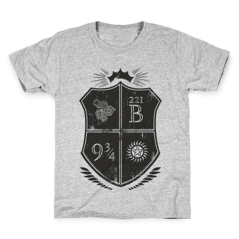 Fandom Family Crest Kids T-Shirt