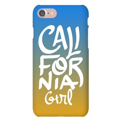 California Girl Phone Case
