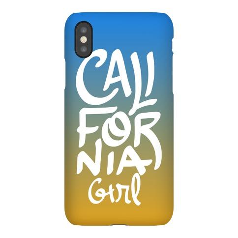 California Girl Phone Case