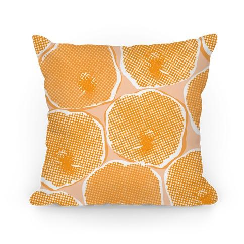 Large Yellow Poppy Flower Pattern