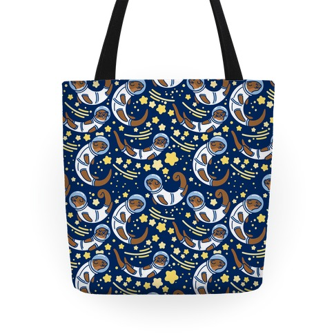 Otters In Space Tote