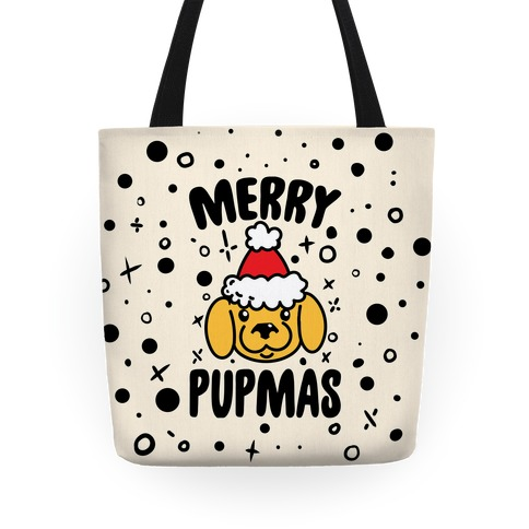 Merry Pupmas Tote