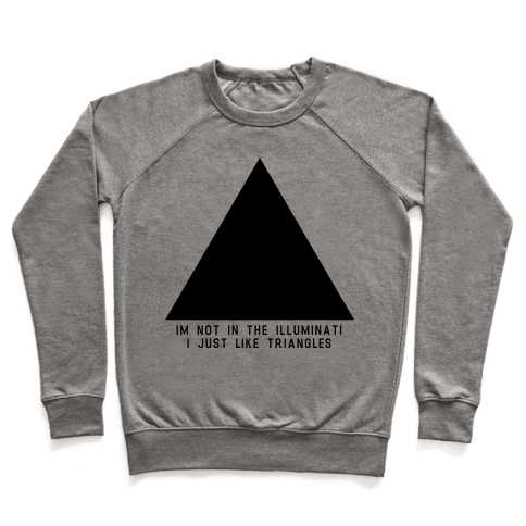 Not in the Illuminati Pullover