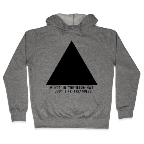 Not in the Illuminati Hooded Sweatshirt