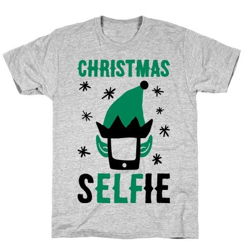 Christmas Selfie T-Shirt