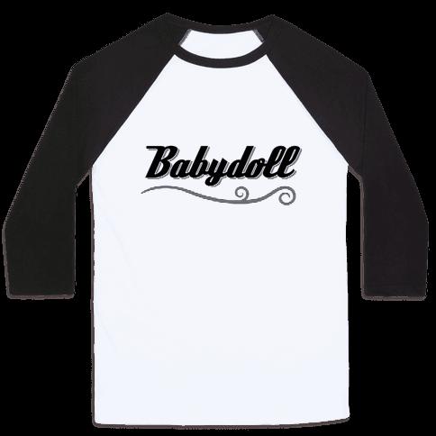 Baby Doll Baseball Tee