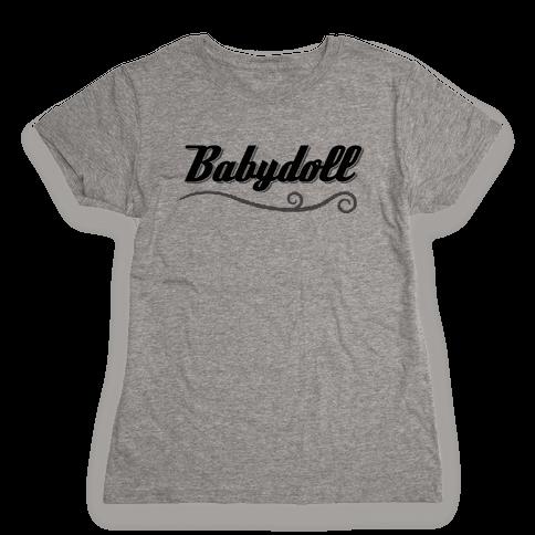 Baby Doll Womens T-Shirt