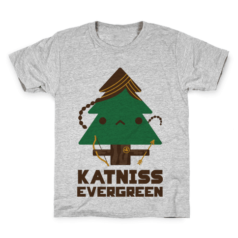 Katniss Evergreen Kids T-Shirt