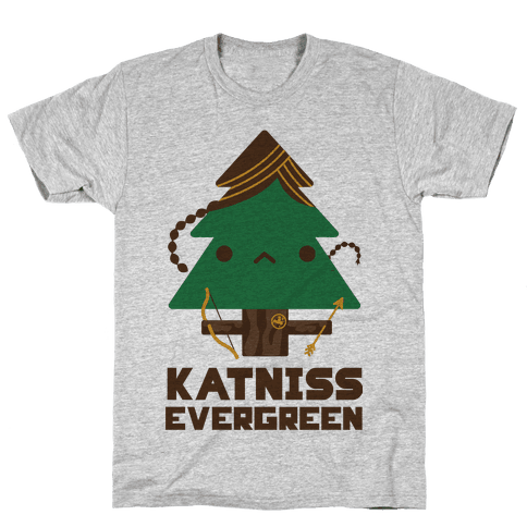 Katniss Evergreen Mens T-Shirt