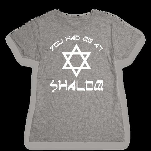 Shalom Womens T-Shirt