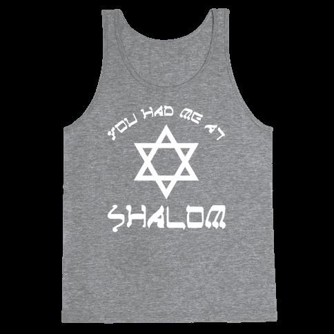 Shalom Tank Top