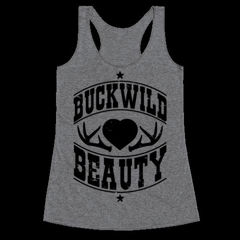 Buckwild Beauty Racerback Tank Top