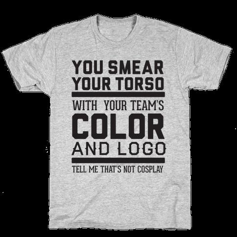 Sports Cosplay (dark) Mens T-Shirt