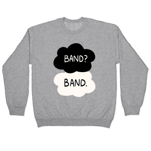Band? Band. Pullover