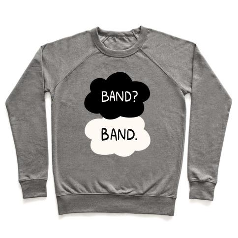 Band? Band. Pullover